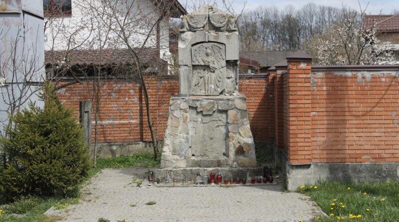 Пам'ятник орлятам у Рясному